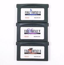Final Fantasy IV V VI 4 5 6 Advance Sound Restoration for Game Boy Advance GBA