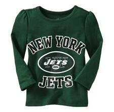 New York Jets NFL Toddler Girls New NWT Long Sleeve Glittery Shirt