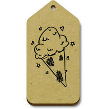'Ice Cream Cone' Gift / Luggage Tags (Pack of 10) (vTG0013746)