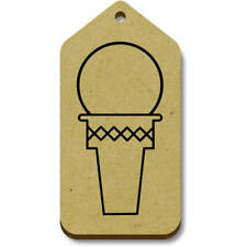 'Ice Cream Cone' Gift / Luggage Tags (Pack of 10) (vTG0013766)