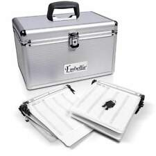 New BLS Aluminium CD DVD Bluray Storage Case Box 240 Discs SL