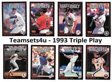 1993 Triple Play Baseball Set ** Pick Your Team **