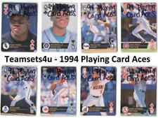 1994 Playing Card Aces Baseball Set ** Pick Your Team **