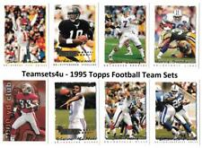 1995 Topps Football Team Sets ** Pick Your Team Set **