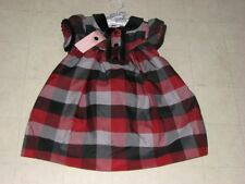 First Impressions Plaid Party Dress Outfit For Girls SZ 3-6/12M  NWT $44