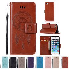 Luxury Wallet Case For Apple iPhone SE 5 5S Leather Cover Pouch Stand Flip