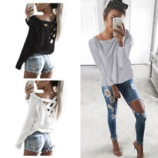 Long Sleeve Shirt Loose Casual T Shirt New Fashion Womens Blouse Tops