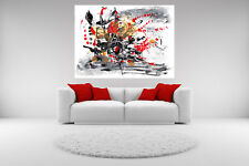 Abstract Canvas Giclee Print Pattern Unframed Home Fine Decor Wall Art Picture