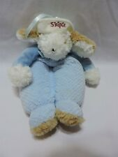 Bunnies By The Bay Skipit Lullaby Musical Puppy Dog Crib Pull Plush Toy 15""