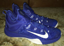 NIKE Zoom Hyperrev 2015 Royal Blue White Basketball Shoes Sneakers NEW Mens 15.5
