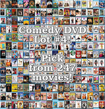 Comedy DVD Lot #4: 247 Movies to Pick From! Buy Multiple And Save!