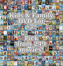 Kids & Family DVD Lot #7: 249 Movies to Pick From! Buy Multiple And Save!