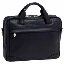 "McKlein USA S series MONTCLARE 13.3"" Leather Small Laptop Briefcase"