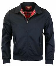 MEN'S MERC CLASSIC MOD 'HARRINGTON' IN NAVY JACKET ALL SIZES ALL SIZES S TO 3XL