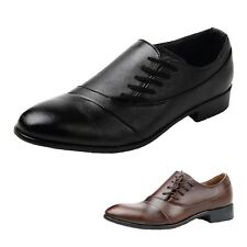 Designer Casual Faux Leather Oxford Classic Flat Shoes UK 5.5-9.5