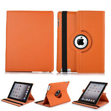360 Rotating PU Leather Shockproof Smart Case Stand Cover For Apple iPad 2 3 4