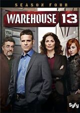Warehouse 13 Complete  Season 4 Four Fourth DVD BRAND NEW AND SEALED!