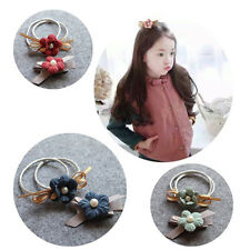 Rope Cloth Headbands Flower Hair Rubber bands Hair Ring Ties Hair Accessories
