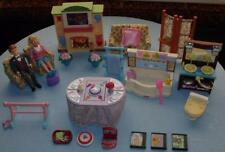 Fisher Price Loving Family Dream Doll House FURNITURE PEOPLE 27 PC Music Lights