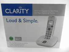 Clarity D712 Dect 6.0 Amplified Cordless Phone with Digital Answering Machine