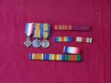 Lot of WWI British and American Ribbons and Medals