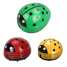 AU Portable Cute Beetle Ladybug cartoon Mini Desktop Vacuum Desk Dust Cleaner