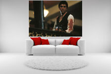 Scarface Al Pacino Canvas Shooting Bloody Giclee Print Unframed Home Decor Art