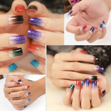 Glitter Foils Nail Stickers Decal Manicure Tips DIY Decoration Nail Art New