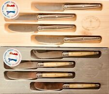Laguiole Jean Dubost Cheese Knives & Spreaders Set of 4-Piece Stainless Steel