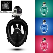 Anti-Fog Waterproof Swimming Goggles Diving Scuba Snorkel Mask for GoPro S~XL