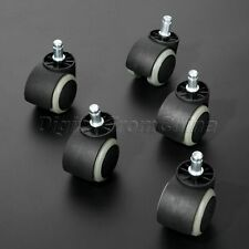 New Office Furniture Chair Swivel Caster Wheels Roller Heavy Duty Floor Protect