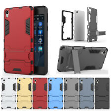 Shockproof Rubber Hard Armor Hybrid Stand Case Cover For Sony XPeria XA XA1 X XZ