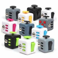 New UK Fidget Cube Toy Children Desk Adults Stress Anxiety Relief Cube ADHD Camo