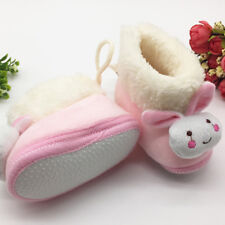 Warm Boys Girls Winter Booties Infant Baby Shoes Anti Slip Snow Boots