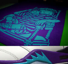 New Fnly94 v Purple Aqua Fresh Prince of Bel Air shirt grape jordan 5 tv M L XL