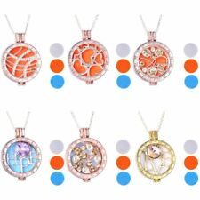 My Coins Aromatherapy Essential Oil Diffuser Mi Pendant Necklace Locket Set Hot