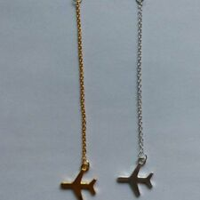 Airplane Pendant Fashion Gold Layered Necklace Jewelry For Women Party Gift New