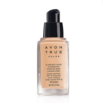 Lot of 2 Avon True Color Flawless Liquid Foundation (Natural Beige)
