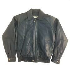 RN# 20849, Excelled, Vintage, Men Genuine Lambskin Leather Bomber (Short) Jacket