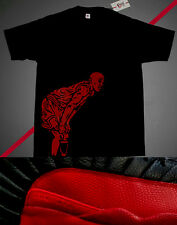 New Fnly94 Black Red pose shirt jordan 1 bred cement iii og 88 sz S M L 2XL