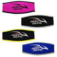 Neoprene Scuba Diving Snorkel Mask Strap Cover Long Hair Protection Wrap