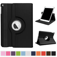 "360 Rotating Leather Smart Stand Cover Case For iPad 9.7"" 2017 5th Gen Mini Air"
