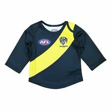 AFL Richmond Tigers Footy Longsleeve Baby Toddlers Footy Jumper Guernsey