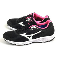 Mizuno Maximizer 20 Black/White/Pink Wide Basic Sportstyle Running K1GA180102