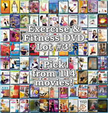 Exercise & Fitness DVD Lot #3: Pick Items to Bundle and Save!