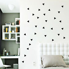 Wall Sticker Wall Decoration Home Decor Kids Room DIY Mini Triangles Decals