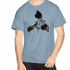 ARCHAEOPTERYX Fossil Dinosaur Paleontology Novelty Fun Unique Gift Shirt Men BLU