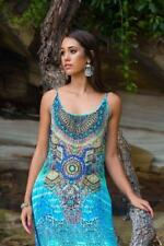 New PACIFICO - Maxi Dress With Adjustable Shoulder Straps The Swank Store
