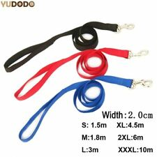 Nylon Dog Leashes Pet Walking Training Leash Cats Dogs Harness Collar Lead