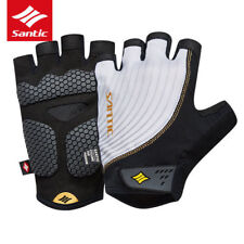 Anti-pilling Mens Summer Cycling Gloves Half Finger Breathable MTB Bike Bicycle